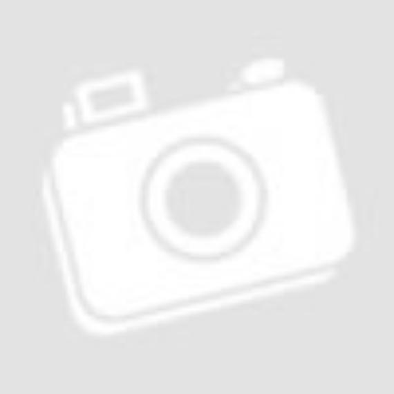 Swarovski kristályos elcsúsztatott kereszt medálos nyaklánc