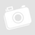 Kép 6/7 - Huawei P20 Pro, Szilikon védőkeret, edzett üveg hátlap, márvány minta, Wooze FutureCover, kék